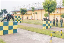 Hăng say luyện rèn trước ngày hội toàn quân